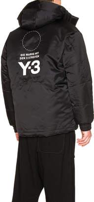 Yohji Yamamoto Y 3 Padded Jacket