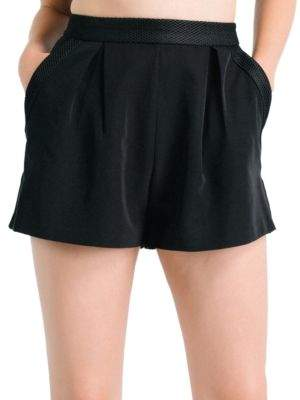 KENDALL + KYLIE Mesh High-Rise Shorts