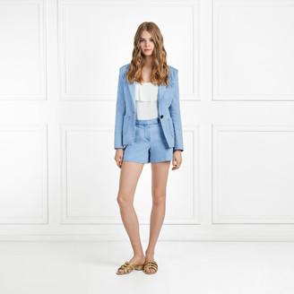Rachel Zoe Maya Light Denim Shorts