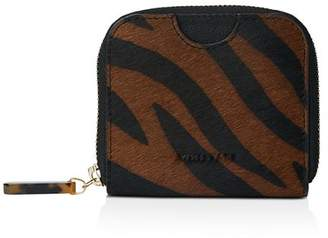 Whistles Murray Tiger Print Zip Around Wallet