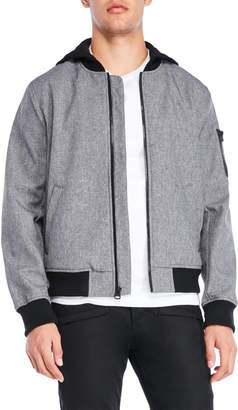 Levi's Hooded Soft Shell Bomber Jacket