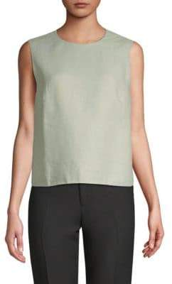 Valentino Sleeveless Linen Top