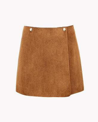 Suede Mini Skirt $695 thestylecure.com