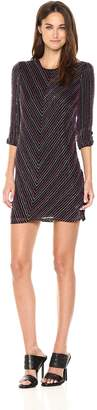 Parker Women's Petra 3/ Sleeve Beaded Mini Dress