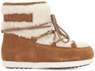 Moon Boot Far Side Low Shearling Boots