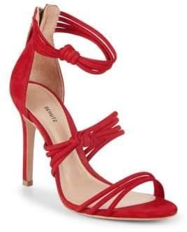 Schutz Suely Suede Sandals