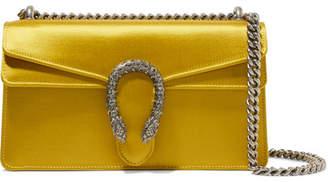 Gucci Dionysus Satin Shoulder Bag - Gold