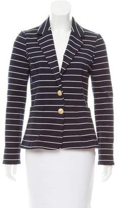 Karen Walker Striped Knit Blazer