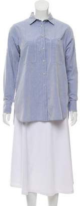 Rag & Bone Button-Up Long Sleeve Top