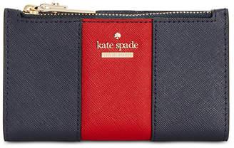 Kate Spade Racing Stripe Mikey Wallet