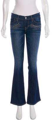 Elizabeth and James Tyler Low-Rise Jeans