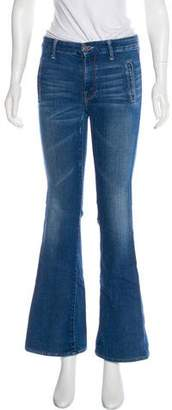 Mother The Drama Mid-Rise Flared Jeans