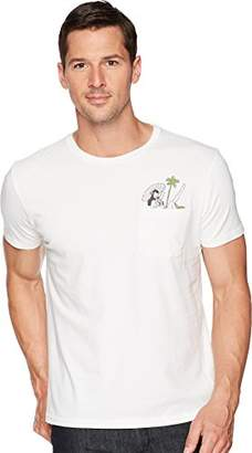 Lucky Brand Men's Cocktail Girl Pocket Graphic TEE