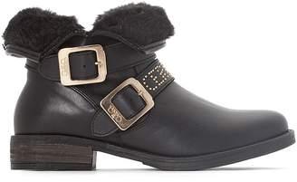 at La Redoute Le Temps Des Cerises LTC Janis Fur-Lined Ankle Boots