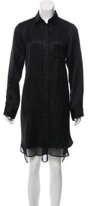 Rag & Bone Button-Up Midi Dress