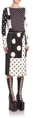 Marc JacobsMarc Jacobs Allover Dot Dress