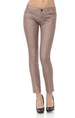 VIRGIN ONLY Women's Junior Size Fitted Skinny Jeans (, Size)