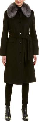 Sofia Cashmere sofiacashmere Sofiacashmere Wool & Cashmere-Blend Coat