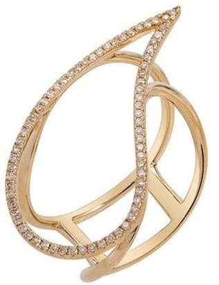 BRIGITTE & Stone Paisley Ring