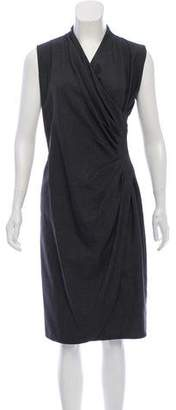 Ralph Lauren Sleeveless Wool Dress