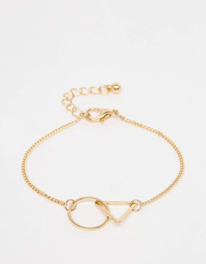 ASOS COLLECTION ASOS Interlocking Shapes Bracelet