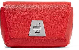 Akris Anouk Little Day Textured-leather Clutch