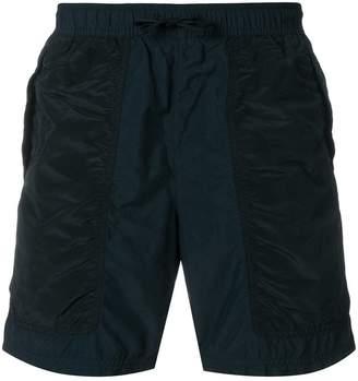 Stone Island panelled beach shorts