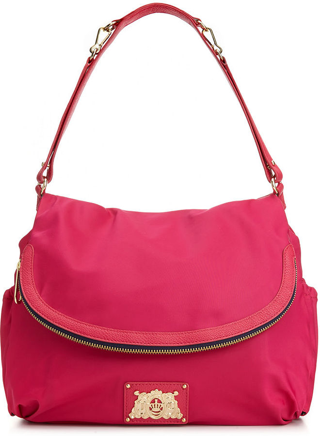 Juicy Couture Malibu Nylon Crossbody Baby Bag