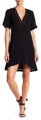A.L.C. Joelle Lace-Up Neckline Dress