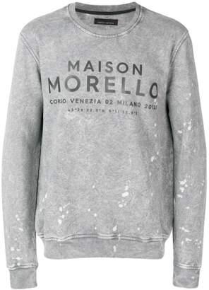 Frankie Morello Lingo sweatshirt