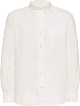 Blue Blue Japan Oxford Cotton Raglan Sleeve Shirt Size: S