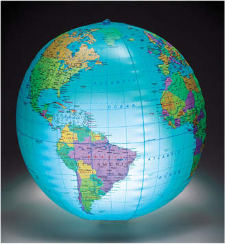 Learning Resources Inc Inflatable Light-Up Globe