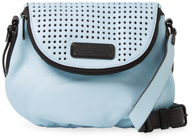 Marc By Marc Jacobs New Q Natasha Mini Perforated Leather Crossbody