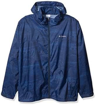 Columbia Men's Glennaker Lake Big & Tall Printed Rain Jacket