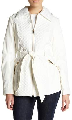 Via Spiga Quilted Waist Jacket