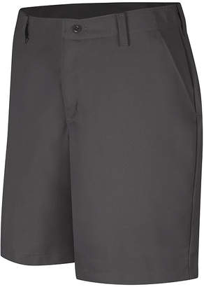 Red Kap Womens Industrial Plain-Front Shorts