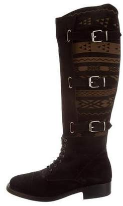Cobra Society Suede Riding Boots
