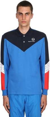 Sergio Tacchini Copper Cotton Piqué Long Sleeve Polo