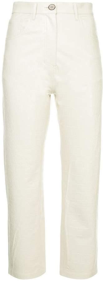Nanushka high rise trousers