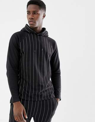 Another Influence Pinstripe Hoodie