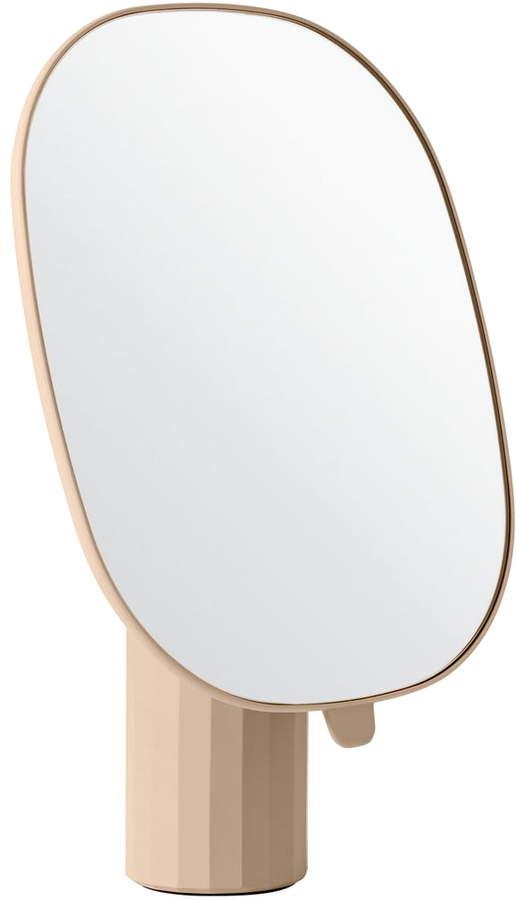 Muuto - Mimic Tischspiegel, Nude