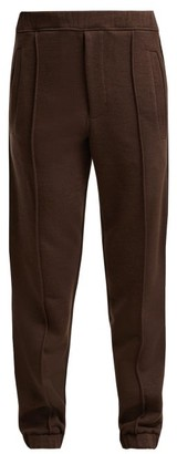 Fendi Logo Tape Track Pants - Womens - Brown