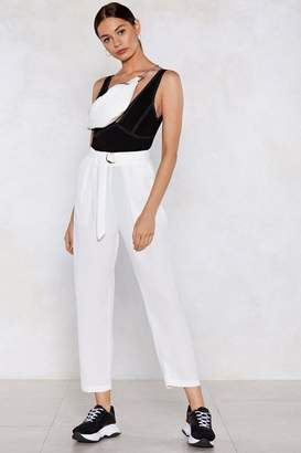 Nasty Gal Plan D Tapered Pants
