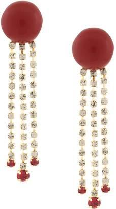Marni long embellished earrings