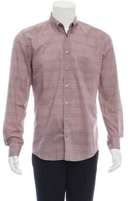 Gucci Glen Plaid Woven Shirt