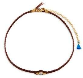 Shashi Ballerina 18K Gold-Plated Choker Necklace