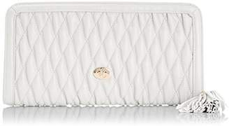 Jane Shilton Womens Crystal - Quilted Zip Wristlet 1705 JAPELLE