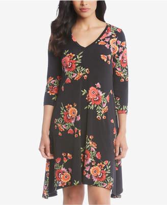 Karen Kane Hailey Floral-Print Dress
