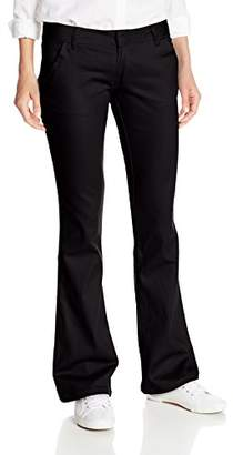 Lee Uniforms Juniors Low Rider Flare-Leg Pant