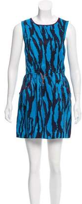 Gryphon Printed Silk Dress w/ Tags